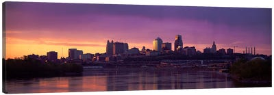 Dawn Kansas City MO Canvas Art Print