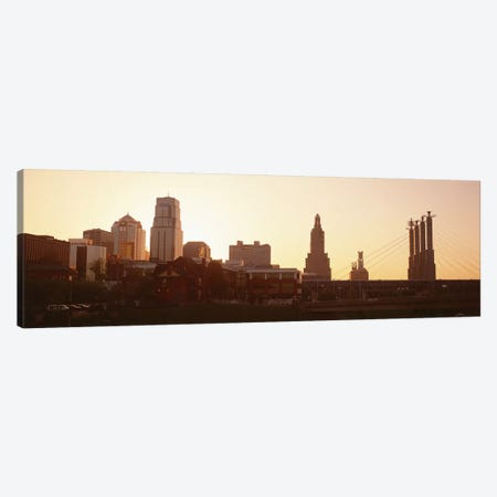 Kansas CityMissouri, USA Canvas Print #PIM3021} by Panoramic Images Canvas Art
