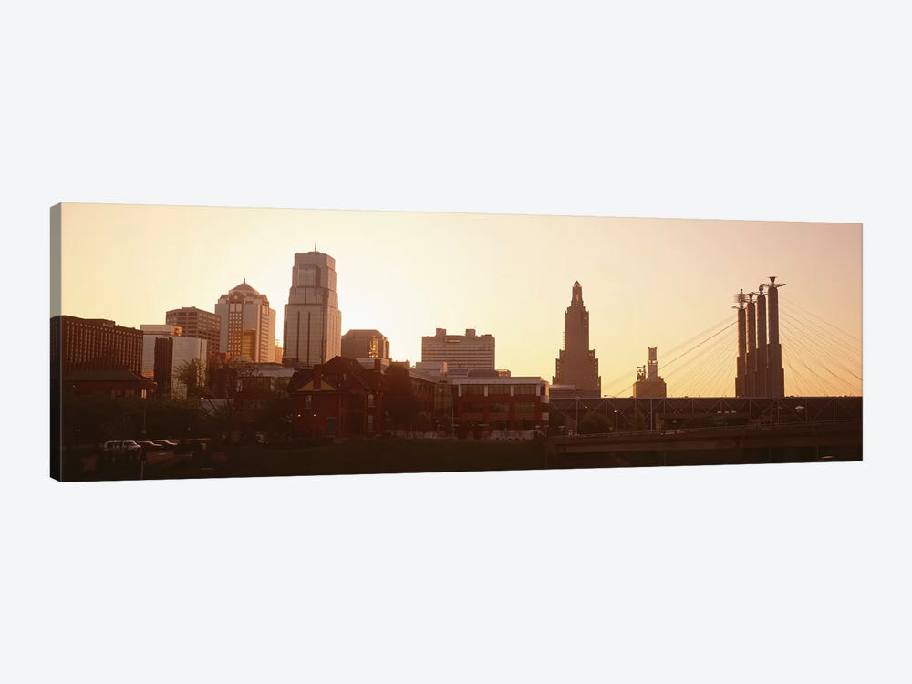 Kansas CityMissouri, USA by Panoramic Images 1-piece Canvas Art Print