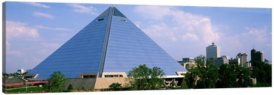 USATennessee, Memphis, The Pyramid Canvas Art Print