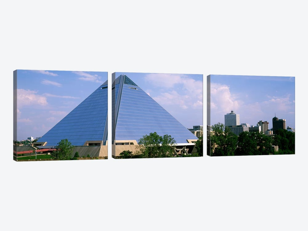 USATennessee, Memphis, The Pyramid by Panoramic Images 3-piece Canvas Art
