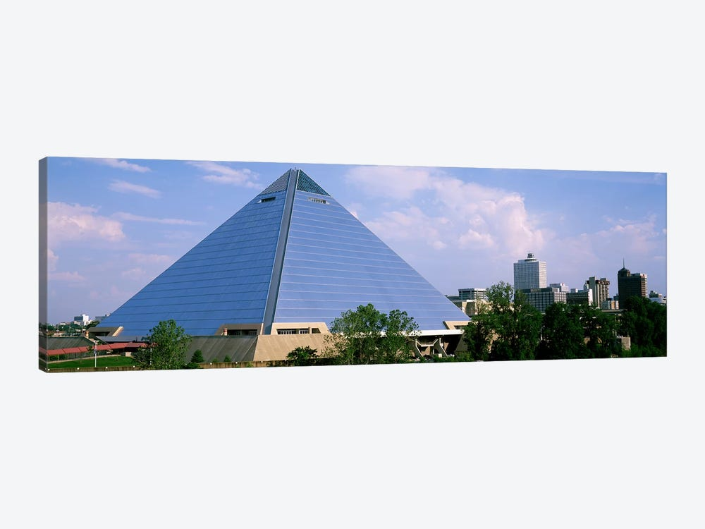 USATennessee, Memphis, The Pyramid 1-piece Canvas Wall Art