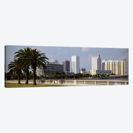Skyline Tampa FL USA Canvas Print #PIM3036} by Panoramic Images Canvas Artwork