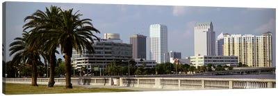 Skyline Tampa FL USA Canvas Art Print