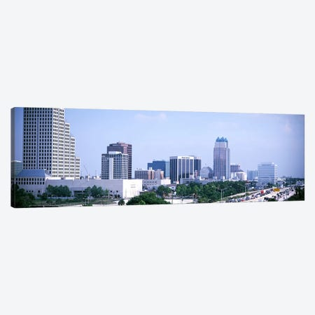 Skyline & Interstate 4 Orlando FL USA Canvas Print #PIM3038} by Panoramic Images Canvas Print