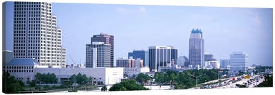 Skyline & Interstate 4 Orlando FL USA Canvas Art Print