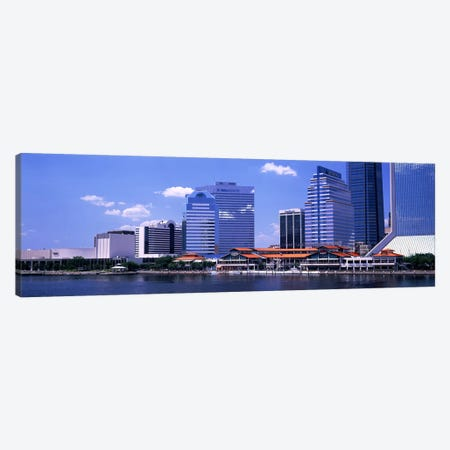 Skyline Jacksonville FL USA Canvas Print #PIM3040} by Panoramic Images Canvas Wall Art
