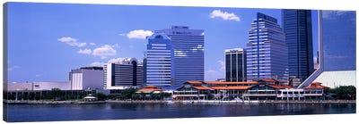 Skyline Jacksonville FL USA Canvas Art Print