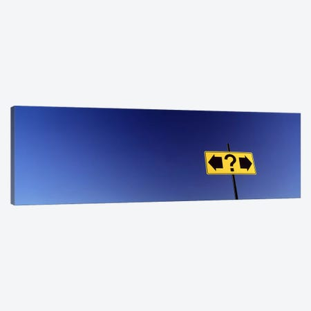 Highway Sign Canvas Print #PIM3041} by Panoramic Images Canvas Wall Art