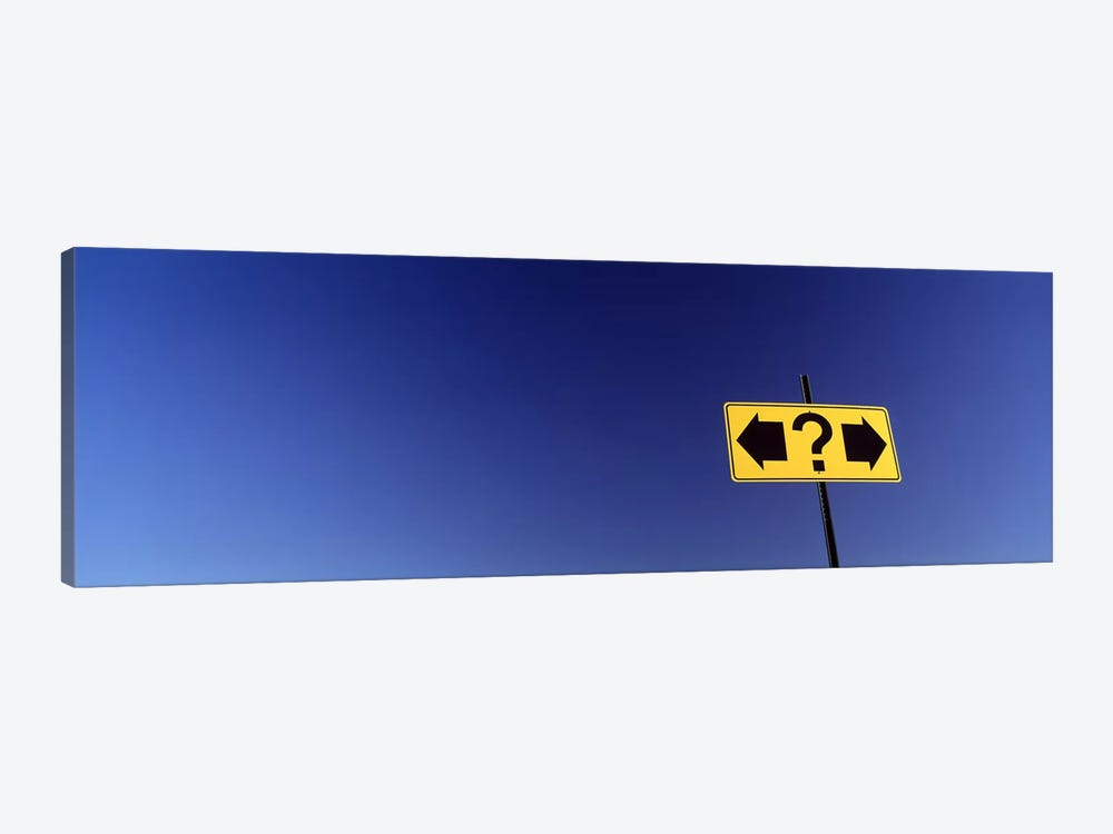 Highway Sign by Panoramic Images 1-piece Canvas Art Print