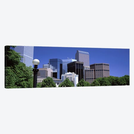 Denver CO Canvas Print #PIM3043} by Panoramic Images Canvas Artwork