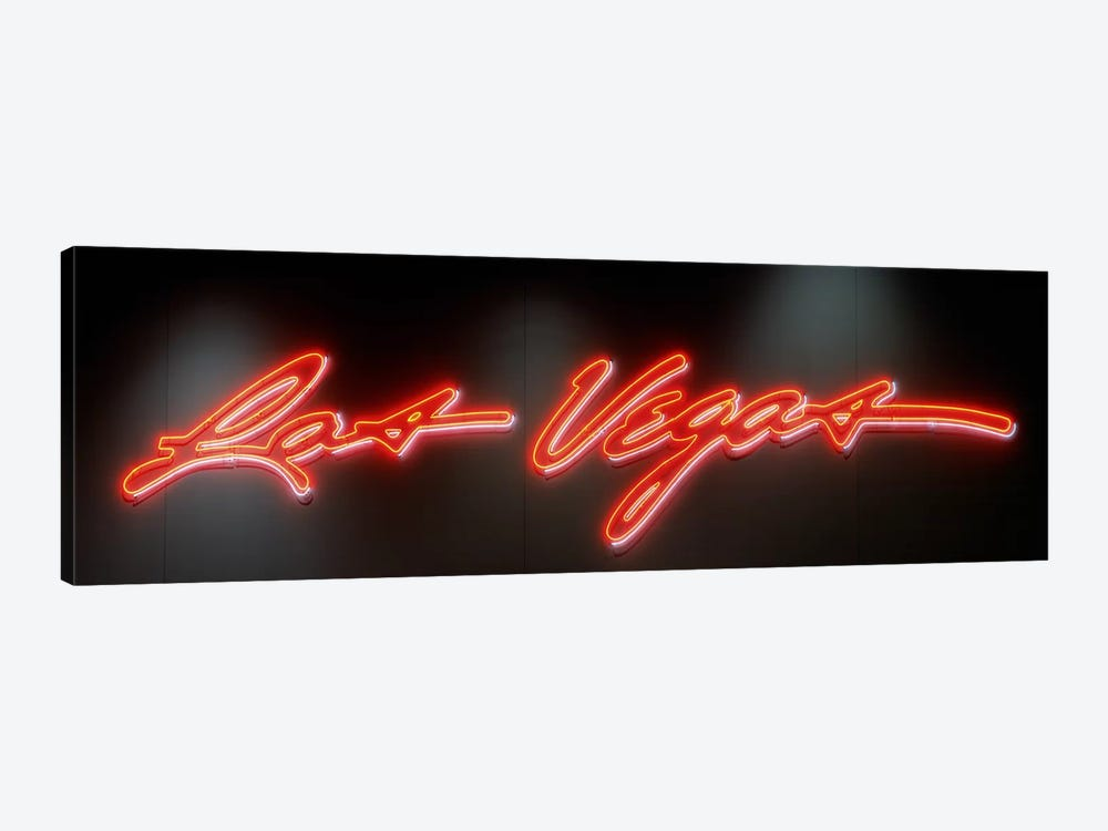 Las Vegas SignLas Vegas Convention Center, Nevada, USA by Panoramic Images 1-piece Canvas Art
