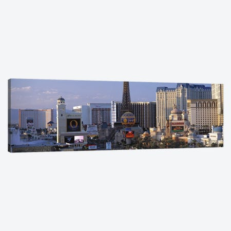 The Strip Las Vegas NV #2 Canvas Print #PIM3045} by Panoramic Images Canvas Print