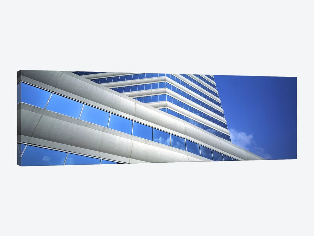 Low angle view of an office building, Dallas, Texas, USA by Panoramic Images 1-piece Canvas Wall Art