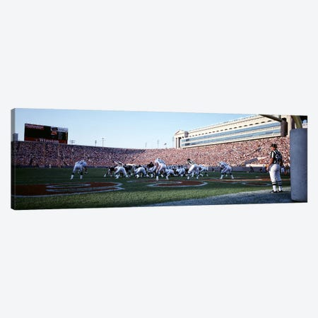 Football Game, Soldier Field, Chicago, Illinois, USA Canvas Print #PIM3047} by Panoramic Images Canvas Print