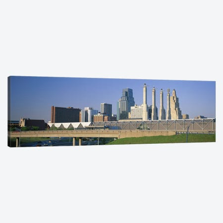 Bartle Hall Kansas City MO Canvas Print #PIM3049} by Panoramic Images Canvas Art