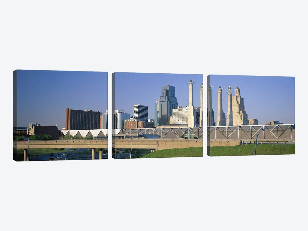 Bartle Hall Kansas City MO by Panoramic Images 3-piece Canvas Art Print