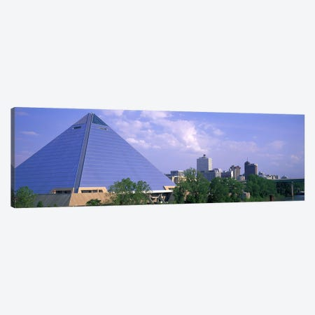 The Pyramid Memphis TN Canvas Print #PIM3051} by Panoramic Images Art Print