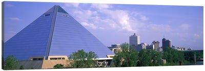 The Pyramid Memphis TN Canvas Art Print