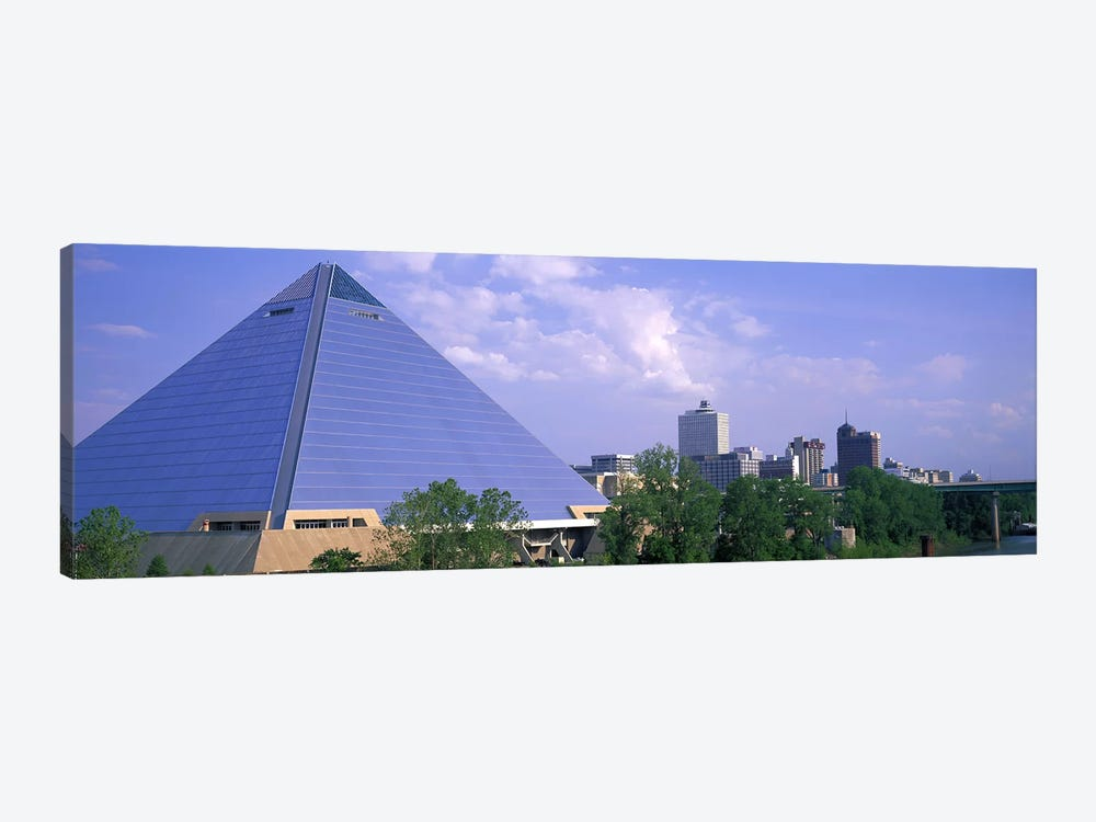 The Pyramid Memphis TN by Panoramic Images 1-piece Canvas Artwork