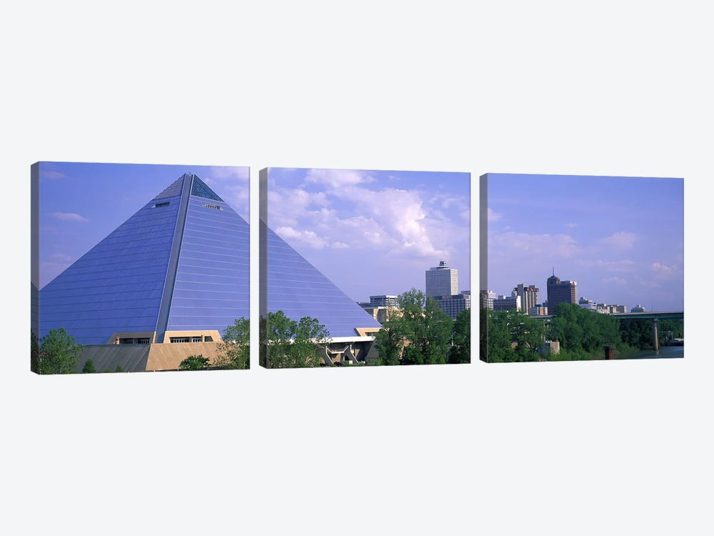 The Pyramid Memphis TN by Panoramic Images 3-piece Canvas Art