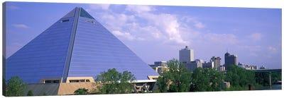 The Pyramid Memphis TN Canvas Art Print