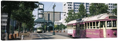 Main Street Trolley Memphis TN Canvas Art Print