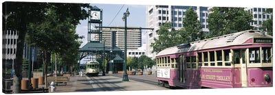 Main Street Trolley Memphis TN Canvas Art Print