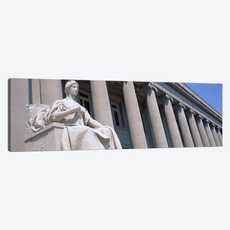 Shelby County Courthouse Memphis TN Canvas Print #PIM3055} by Panoramic Images Canvas Wall Art