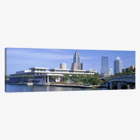 Tampa Convention Center, Skyline, Tampa, Florida, USA Canvas Print #PIM3056} by Panoramic Images Canvas Art