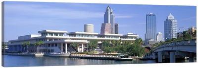 Tampa Convention Center, Skyline, Tampa, Florida, USA Canvas Print #PIM3056
