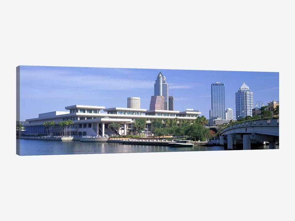 Tampa Convention Center, Skyline, Tampa, Florida, USA by Panoramic Images 1-piece Canvas Art Print