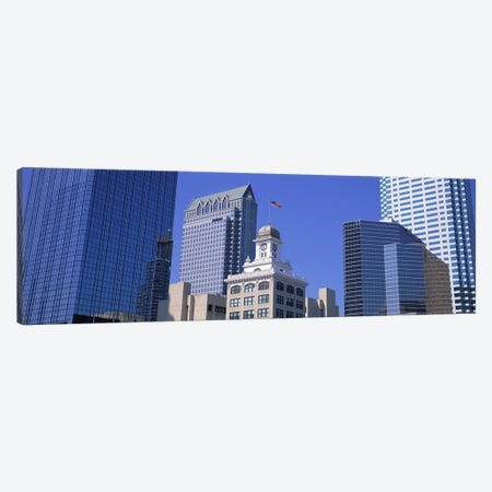 Old City Hall Cityscape Tampa FL Canvas Print #PIM3057} by Panoramic Images Canvas Artwork