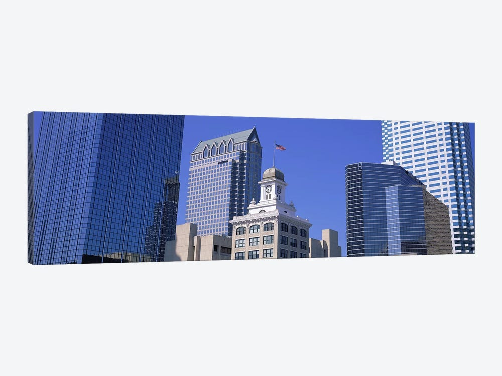 Old City Hall Cityscape Tampa FL by Panoramic Images 1-piece Canvas Wall Art