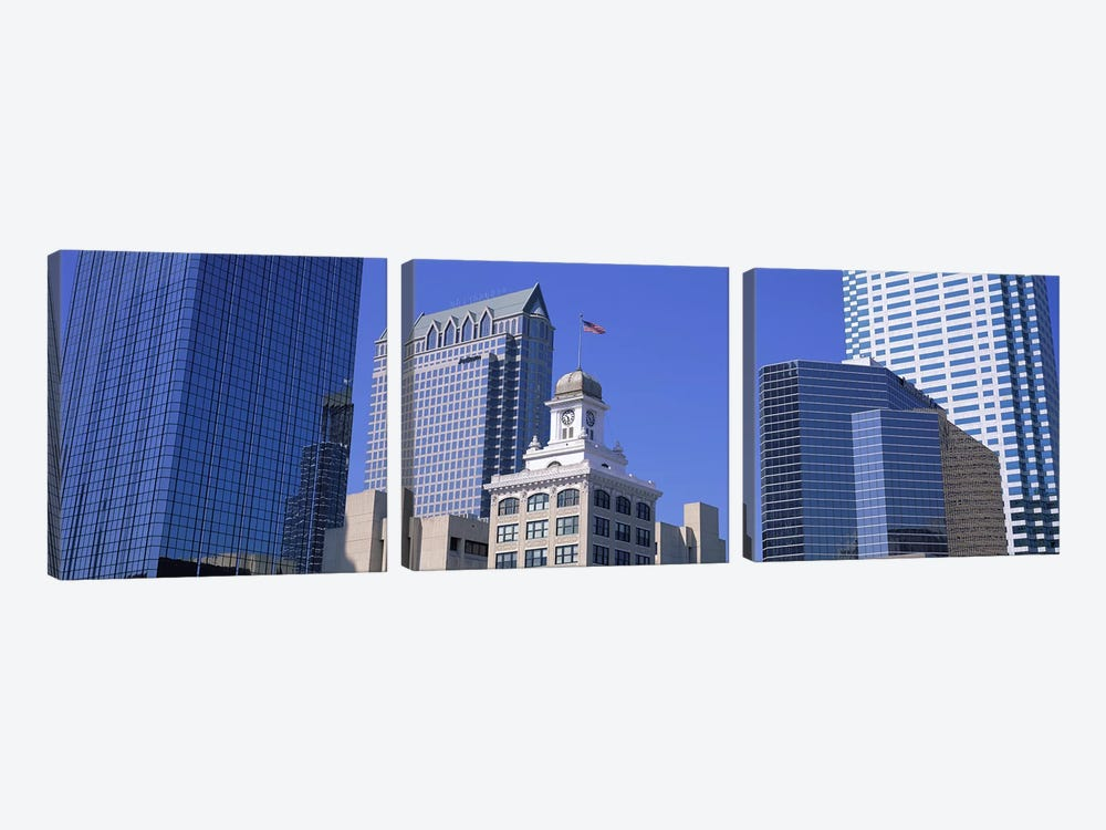 Old City Hall Cityscape Tampa FL by Panoramic Images 3-piece Canvas Art