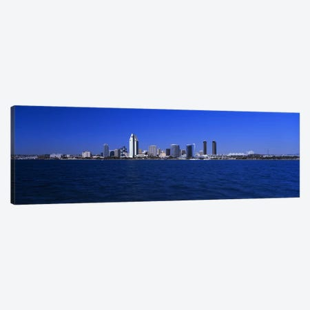 Skyscrapers in a city, San Diego, California, USA Canvas Print #PIM3058} by Panoramic Images Art Print