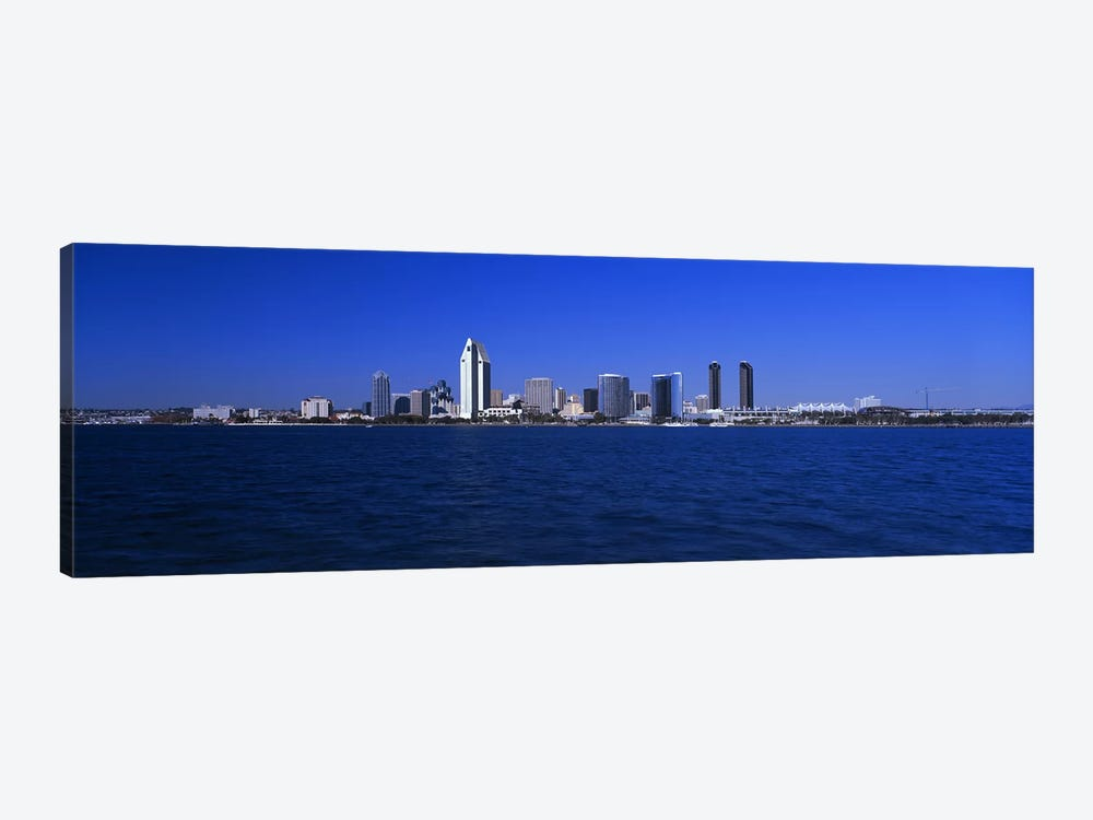Skyscrapers in a city, San Diego, California, USA by Panoramic Images 1-piece Art Print