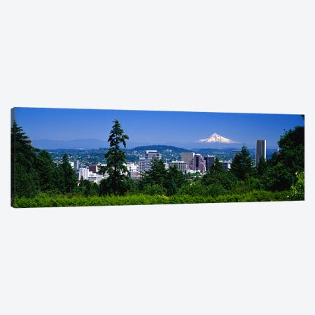 Mt Hood Portland Oregon USA Canvas Print #PIM3060} by Panoramic Images Canvas Wall Art