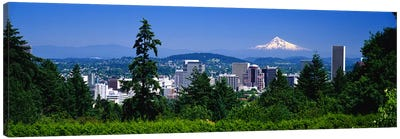 Mt Hood Portland Oregon USA Canvas Print #PIM3060