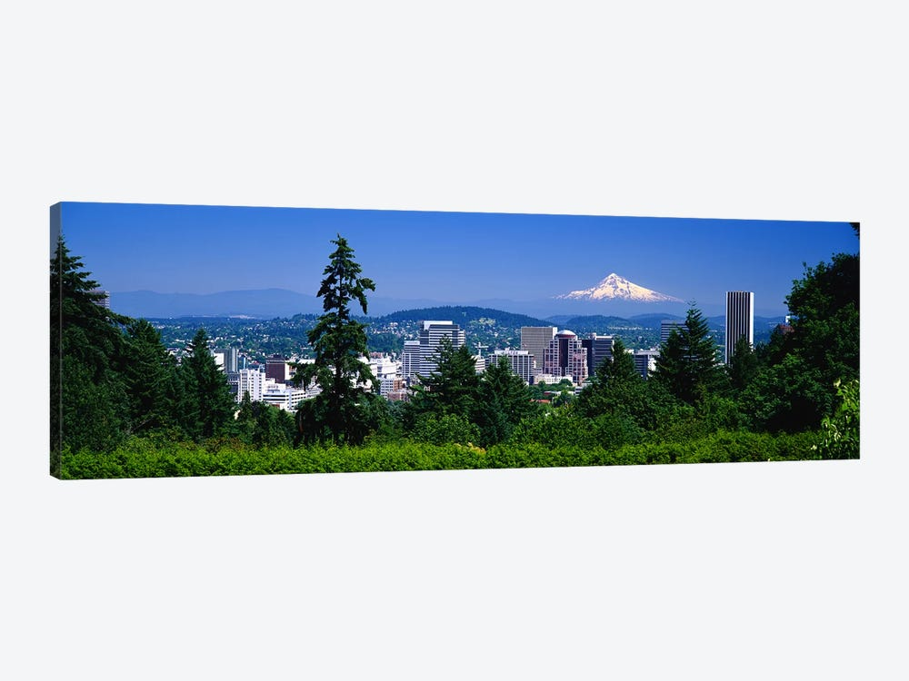 Mt Hood Portland Oregon USA by Panoramic Images 1-piece Canvas Artwork