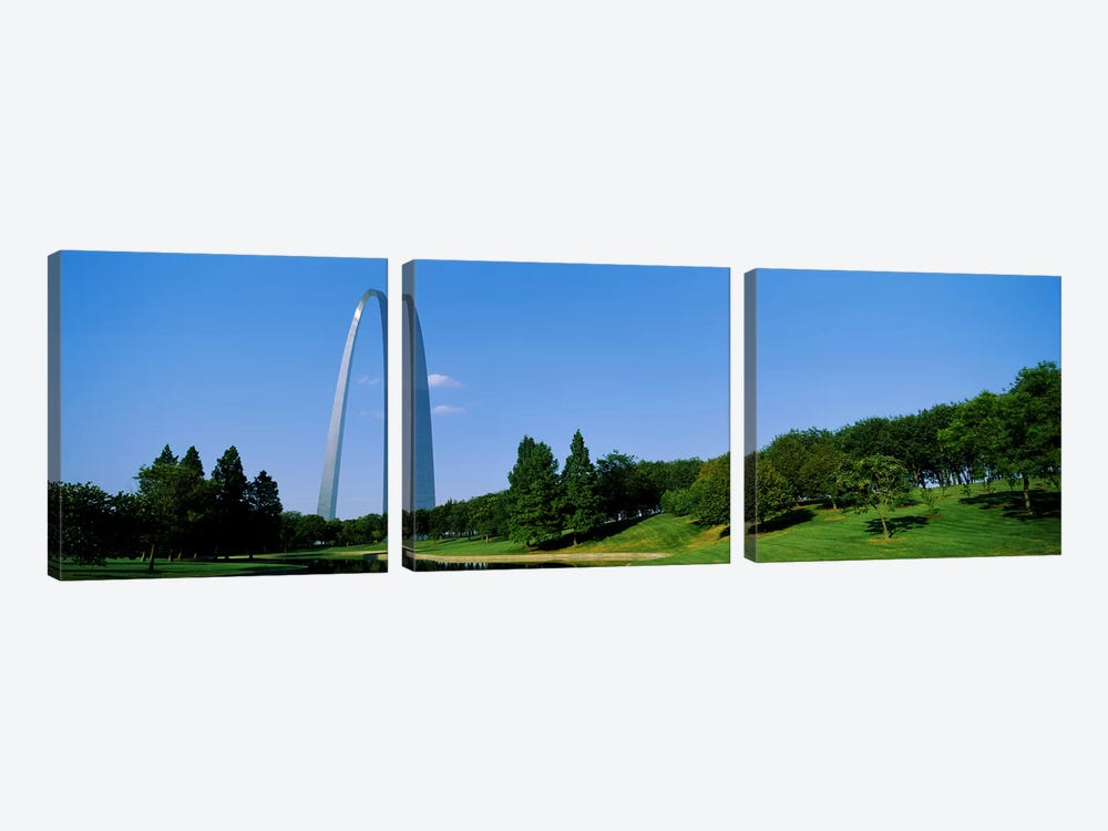 St Louis MO by Panoramic Images 3-piece Canvas Art