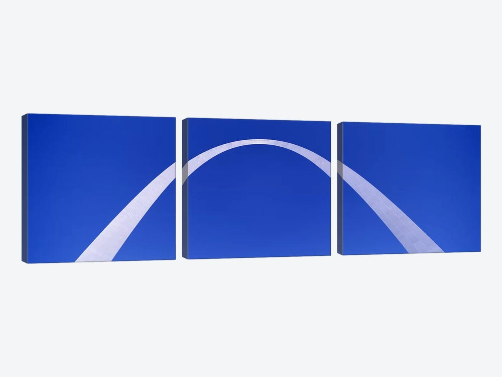 The Arch, St Louis, Missouri, USA by Panoramic Images 3-piece Art Print