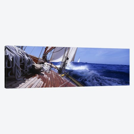 Yacht Race Canvas Print #PIM3097} by Panoramic Images Canvas Art
