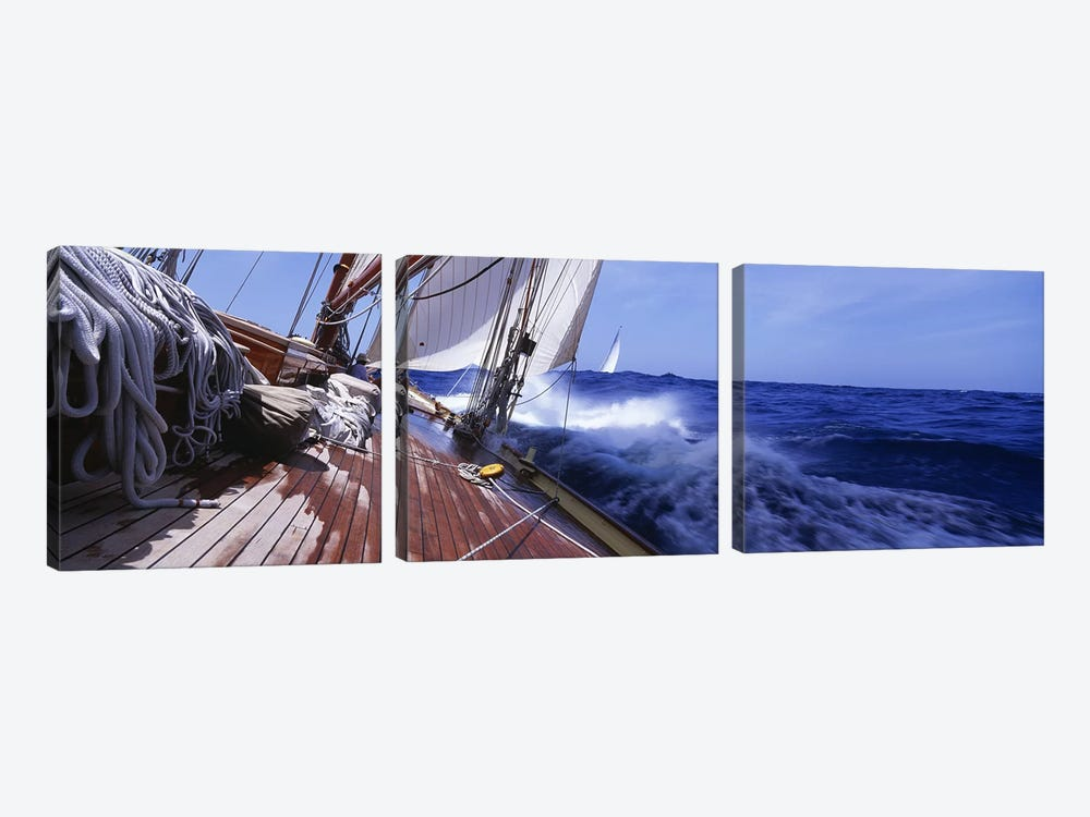 Yacht Race by Panoramic Images 3-piece Canvas Art