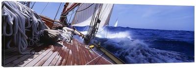 Yacht Race Canvas Art Print