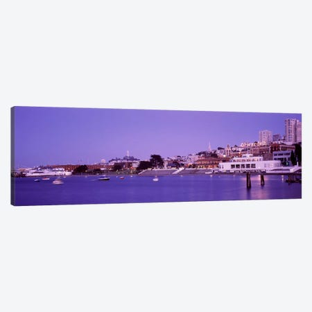 Ghirardelli Square, San Francisco, California, USA Canvas Print #PIM3113} by Panoramic Images Canvas Artwork