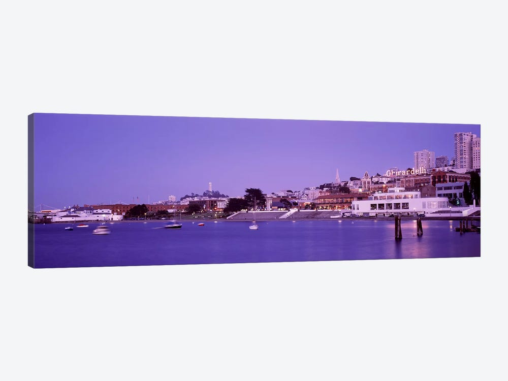Ghirardelli Square, San Francisco, California, USA by Panoramic Images 1-piece Art Print