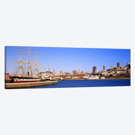 San Francisco CA Canvas Print #PIM3114} by Panoramic Images Art Print
