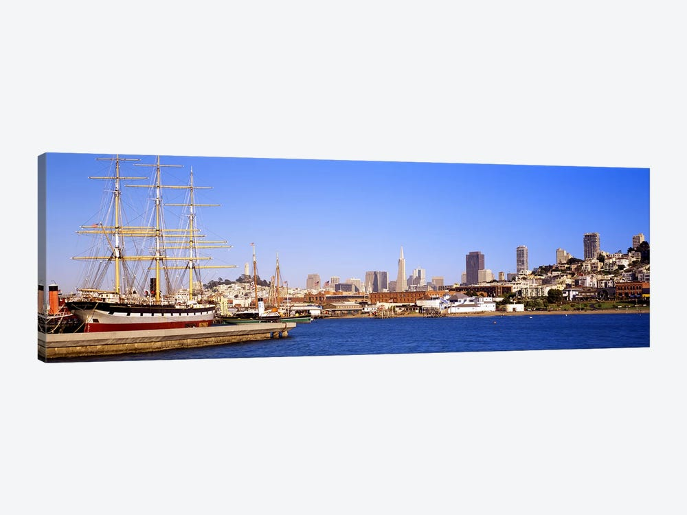 San Francisco CA by Panoramic Images 1-piece Canvas Wall Art