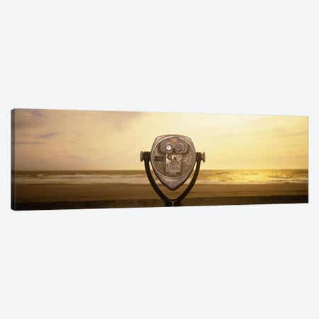 Mechanical Viewer, Pacific Ocean, California, USA 3-Piece Canvas #PIM3119} by Panoramic Images Canvas Art